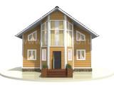 Каркасный дом.