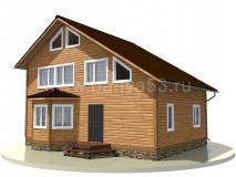 Дом 9,5x7 м