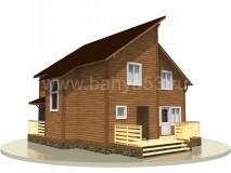 Дом 11x9 м