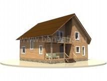 Дом 9x9 м