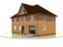 Дом 8x13 м