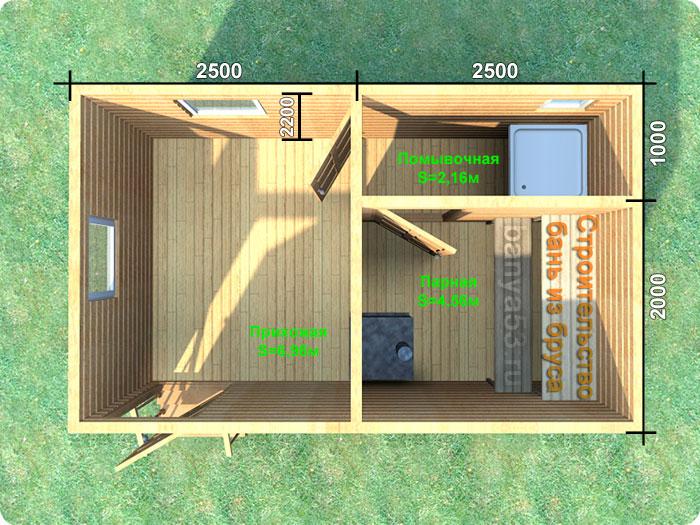 Паро-гидроизоляция (изоспан А). Материал для строительства бани под