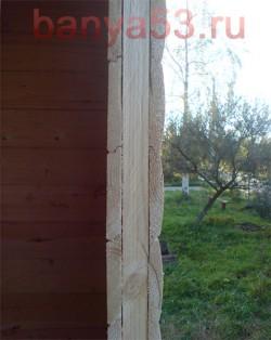 При строительстве бани используем ройки